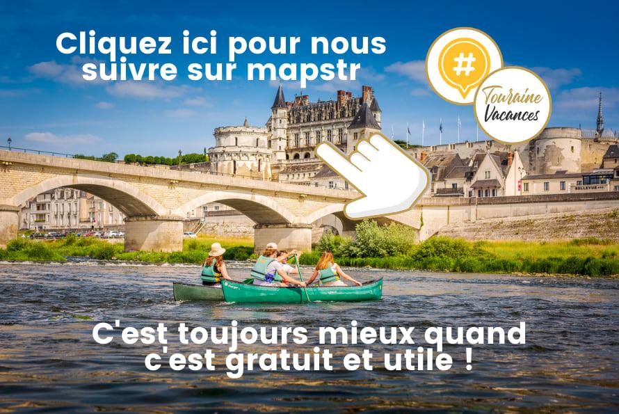 Carte interactive en Touraine
