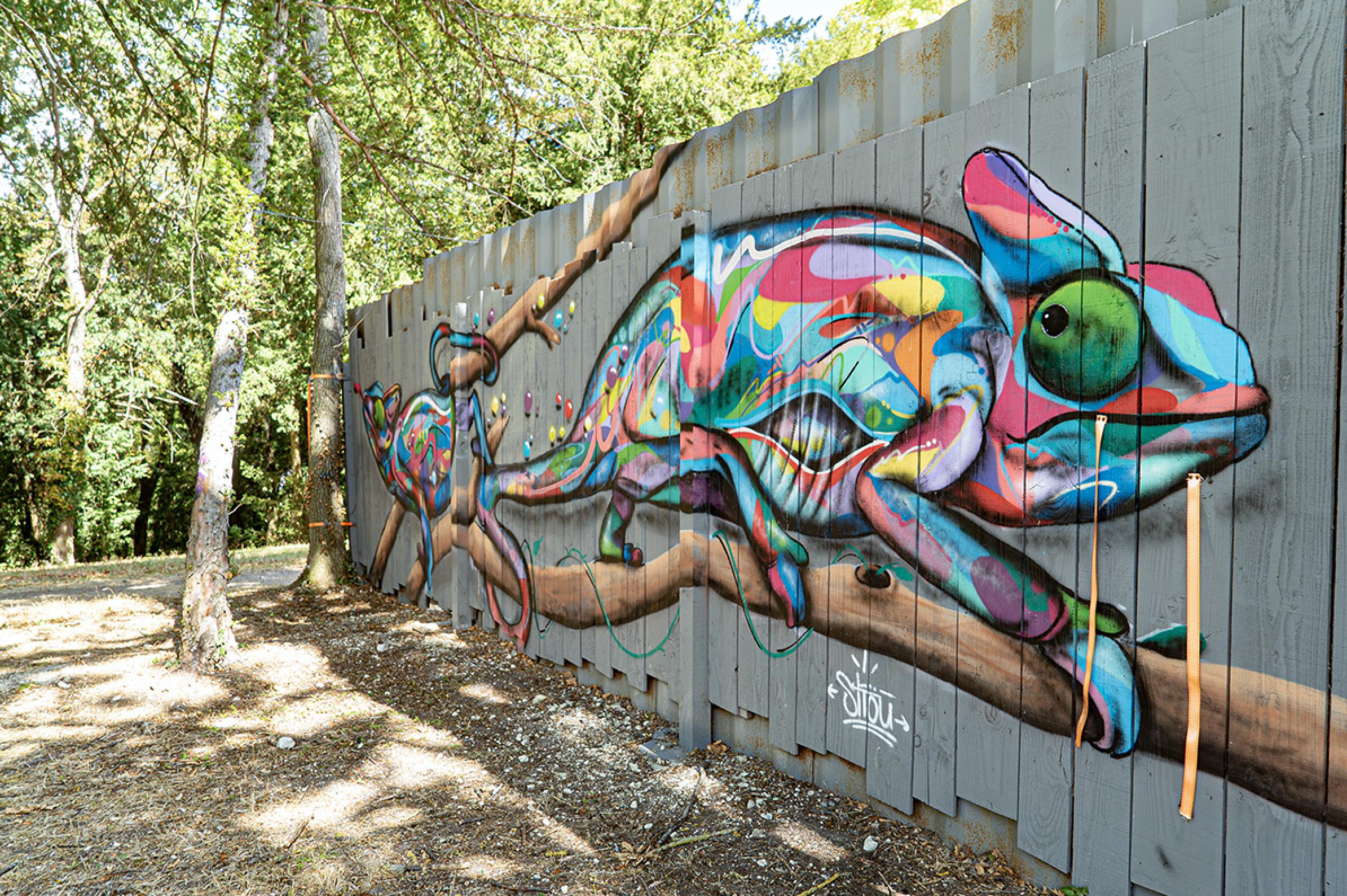 Street art parc